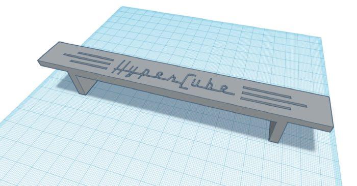 Felirat HyperCube nyomtatóhoz
