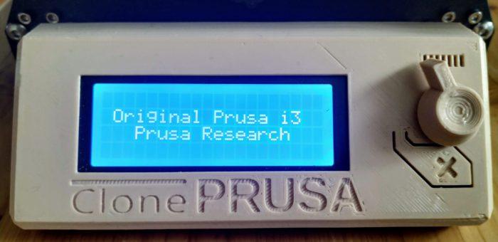 Original Prusa i3 firmware