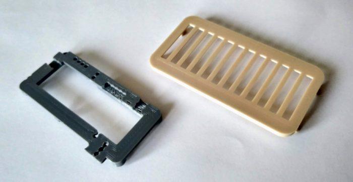 3D nyomtatott alkatrészek