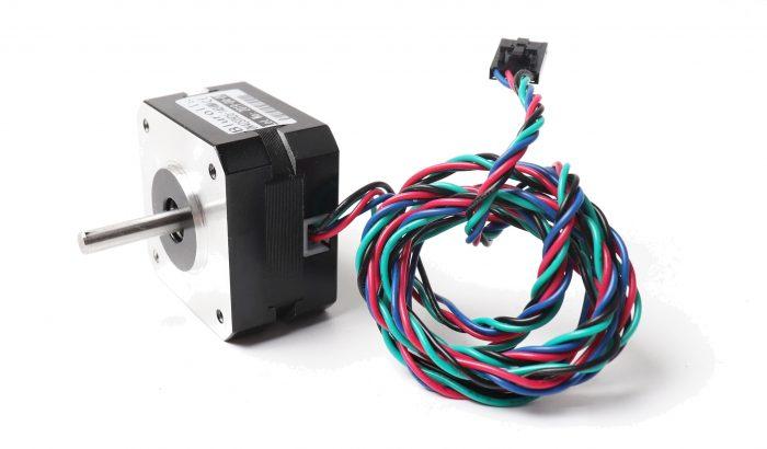 Pancake stepper motor for Prusa i3 MK3S BMG extruder