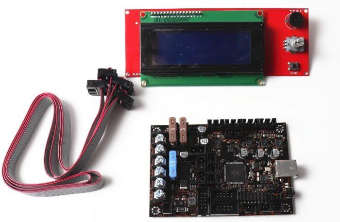 EinsyRambo, LCD