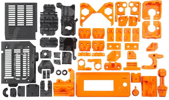 Prusa Mk3 Bear Upgrade printed parts
