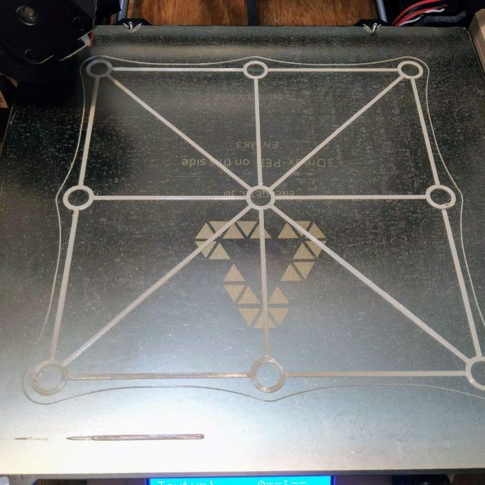 3D nyomtató asztal szintezés