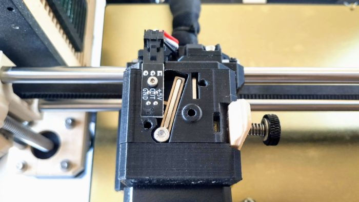 MK3S filament szenzor
