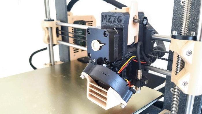 Prusa MZ76 extruder
