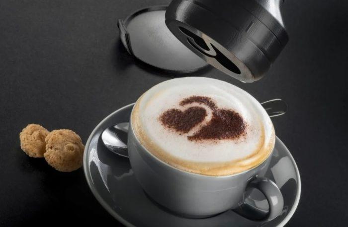 Miele kávé sablon