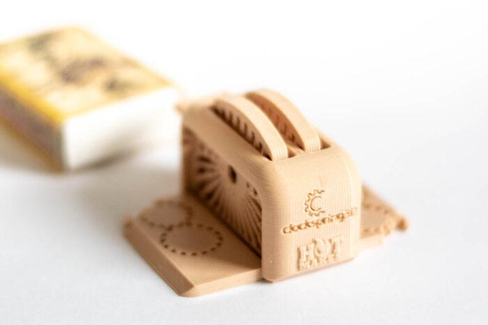 3D nyomtatott kenyérpirító