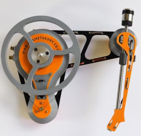 3D nyomtatott lemezjátszó